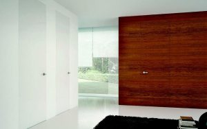 Porte-interieure-design-coulissante-marron