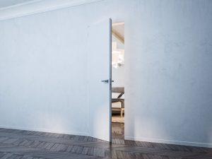 Porte intérieure invisible