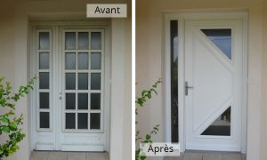 renovation porte alu
